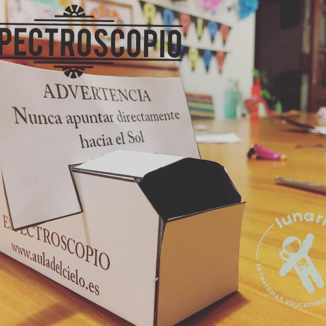 Actividad 2 Espectroscopio Lunariocampamentoencasa2017 Instrucciones enhttpmilunariocomespectroscopio
